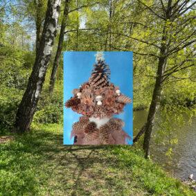 Fossekleiva for kids:Land art –utendørs verksted
